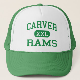Carver - Rams - High - New Orleans Louisiana Trucker Hat