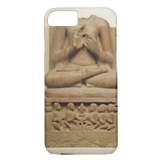 Carving of Buddha in the attitude of preaching a s iPhone 7 Case