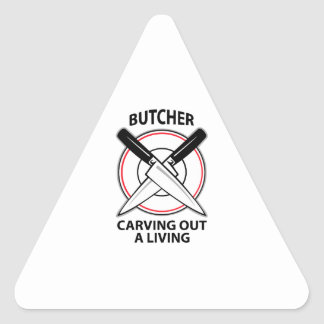 CARVING OUT A LIVING TRIANGLE STICKER