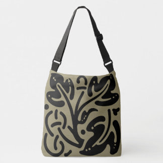 Carvings Crossbody Bag