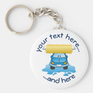 Carwash Keychain