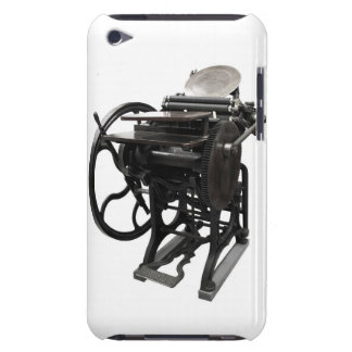 cas 1888 de contact d'iPod d'impression typographi Coque Barely There iPod