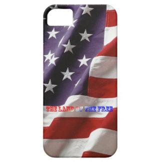 Cas 5/5S d'iPhone de drapeau américain Coques iPhone 5