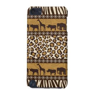Cas à la mode de poster de animal de safari