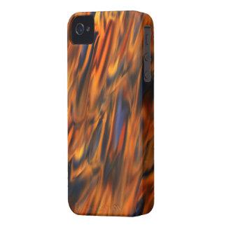 Cas abstrait de compagnon de cas du feu et de la g coques iPhone 4 Case-Mate