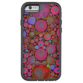 Cas abstrait du motif iPhone6 XTREME de Bling Coque iPhone 6 Tough Xtreme