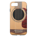 Cas acoustique de l'iPhone 7 de guitare de ficelle Coque iPhone 7