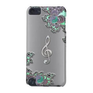 Cas argenté métallique de contact d iPod de