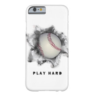 cas base-ball-orienté de téléphone coque iPhone 6 barely there