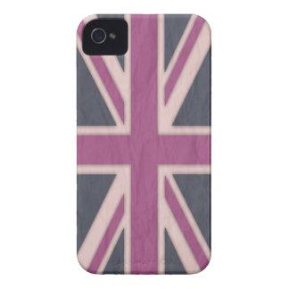 Cas britannique rose classique de l iPhone 4 Coque iPhone 4 Case-Mate