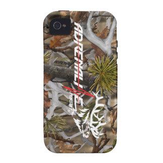 Cas d élans de camouflage de poursuite d adrénalin étui iPhone 4