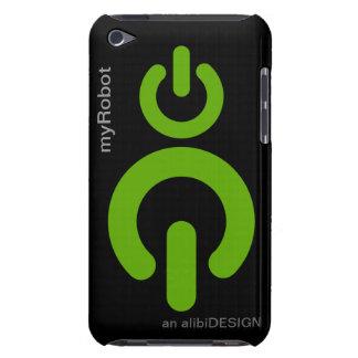 Cas de contact de MyRobot iPod Coques Barely There iPod