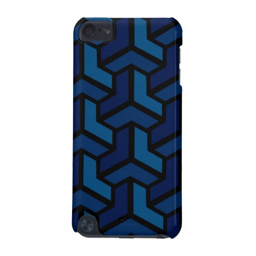 Cas de contact de Paradoks iPod (bleu)
