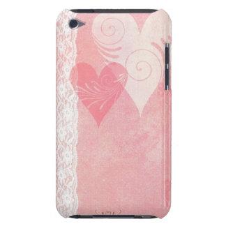Cas de contact d'iPod de flottement de coeurs et d