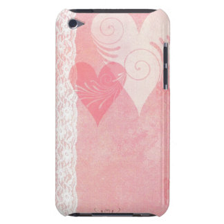 Cas de contact d'iPod de flottement de coeurs et d Coque Case-Mate iPod Touch