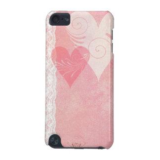 Cas de contact d'iPod de flottement de coeurs et d Coque iPod Touch 5G