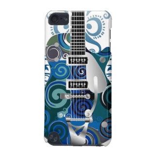 cas de contact d'iPod de musique de guitare Coque iPod Touch 5G