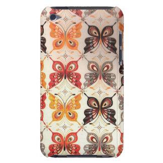 Cas de contact d'iPod de papillon de mosaïque Coque Barely There iPod