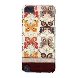 Cas de contact d'iPod de papillon de mosaïque Coque iPod Touch 5G
