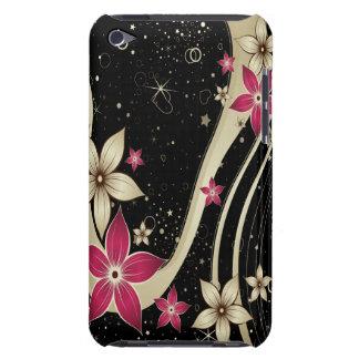 Cas de Coque-Compagnon du décor 19 de fleur Étuis Barely There iPod