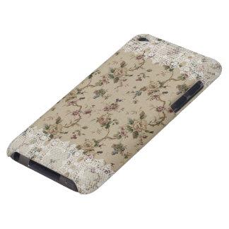Cas de dentelle floral vintage de contact de Madam Étui iPod Touch