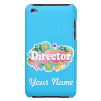 Cas de directeur Custom Turquoise Music iPod