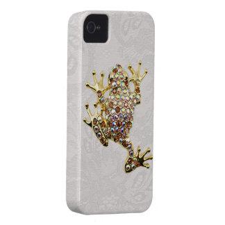 Cas de l iPhone 4 de dentelle de Paisley de photo Coques iPhone 4 Case-Mate