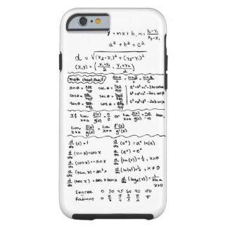 Cas de l iPhone 6 d aide-mémoire d équations de