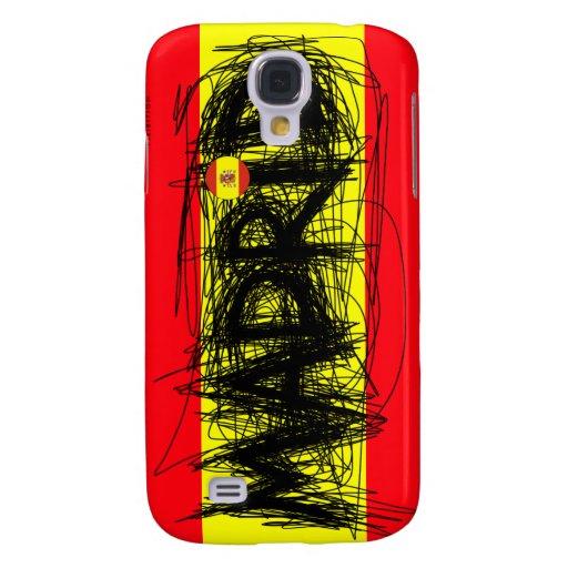 Cas de l'iPhone 3 de point d'éraflure de Madrid Es