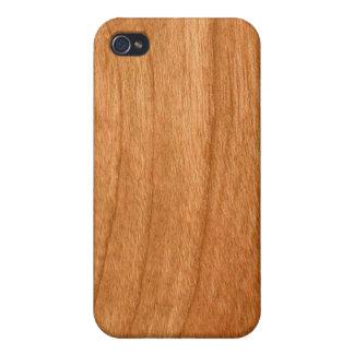 cas de l'iPhone 4 - bois - séquoia iPhone 4 Case