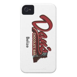 Cas de l'iphone 4 de Belize de barre de chocolat d Coques iPhone 4