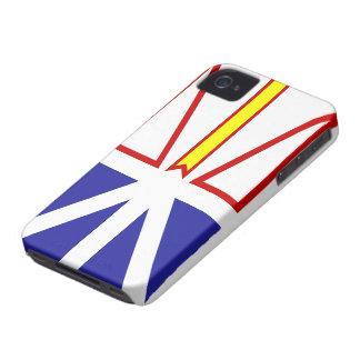 Cas de l'iPhone 4 de drapeau de Terre-Neuve et de  Coques iPhone 4