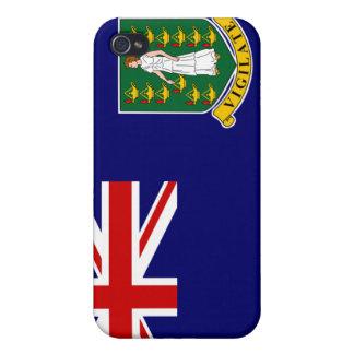 Cas de l'iPhone 4 de drapeau des Îles Vierges brit iPhone 4 Case