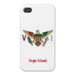 Cas de l'iPhone 4 des Îles Vierges Coque iPhone 4/4S
