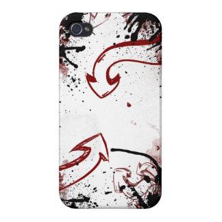 cas de l'iPhone 4 (rouge) Coque iPhone 4 Et 4S