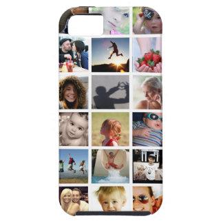 Cas de l'iPhone 5/5s de collage de photo Coque iPhone 5