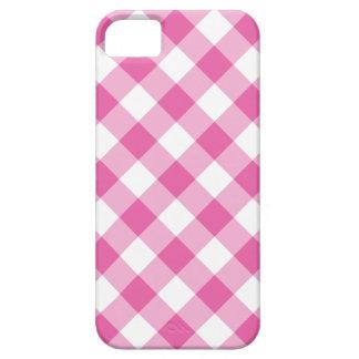 cas de l'iPhone 5/5s : Guingan de contrôle de rose iPhone 5 Case