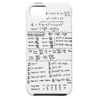 Cas de l'iPhone 5 d'aide-mémoire d'équations de ma Coques Case-Mate iPhone 5