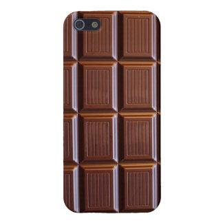 Cas de l'iPhone 5 de barre de chocolat