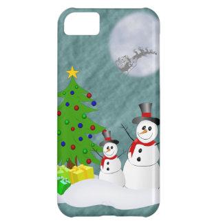 Cas de l'iPhone 5 de bonhommes de neige à peine là Coques Pour iPhone 5C