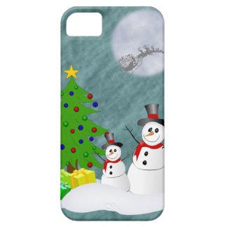 Cas de l'iPhone 5 de bonhommes de neige à peine là Coque Case-Mate iPhone 5