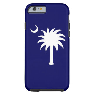 Cas de l'iPhone 6 d'arbre de Palmetto de Sc Coque iPhone 6 Tough
