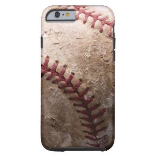Cas de l'iPhone 6 de base-ball Coque Tough iPhone 6