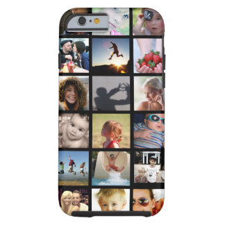 Cas de l'iPhone 6 de collage de photo de client Coque iPhone 6 Tough