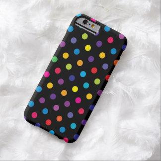 Cas de l'iPhone 6 de point de polka de sucrerie