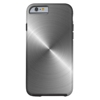 Cas de l'iPhone 6 de regard en métal d'acier inoxy