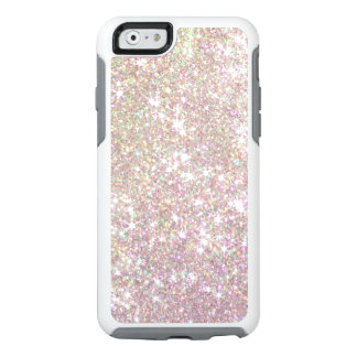 Cas de l'iPhone 6 d'Otterbox de scintillement d'or Coque OtterBox iPhone 6/6s