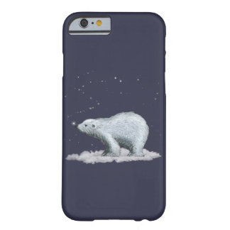 Cas de l'iPhone 6 d'ours blanc Coque Barely There iPhone 6