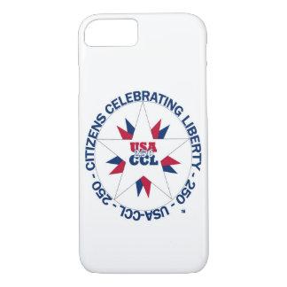 cas de l'iPhone 7 - Amérique 250th ou anniversaire Coque iPhone 8/7