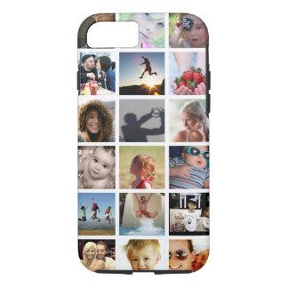 Cas de l'iPhone 7 de collage de photo de client (- Coque iPhone 7